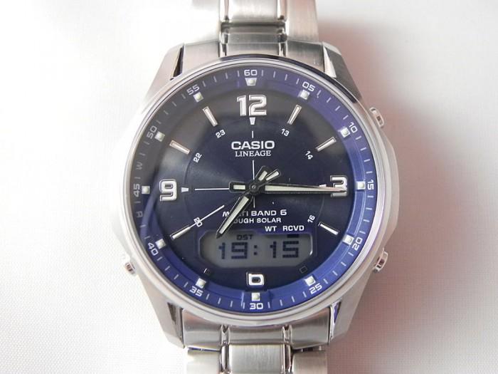 casio funk gris bleu quartz
