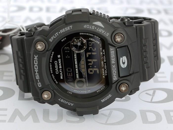 Casio GW-7900B-1ER ronde noire acier