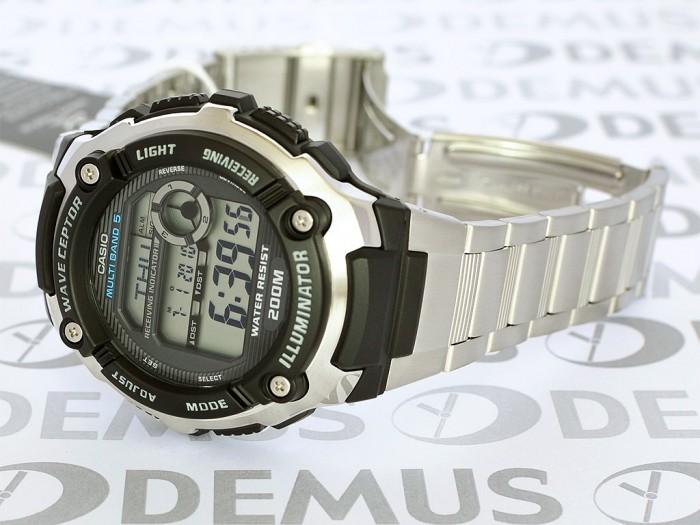 montre Casio WV-200DE-1AVER quartz argent acier