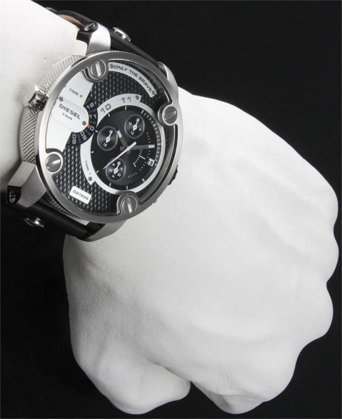 montre Diesel dz7256 quartz grise ronde