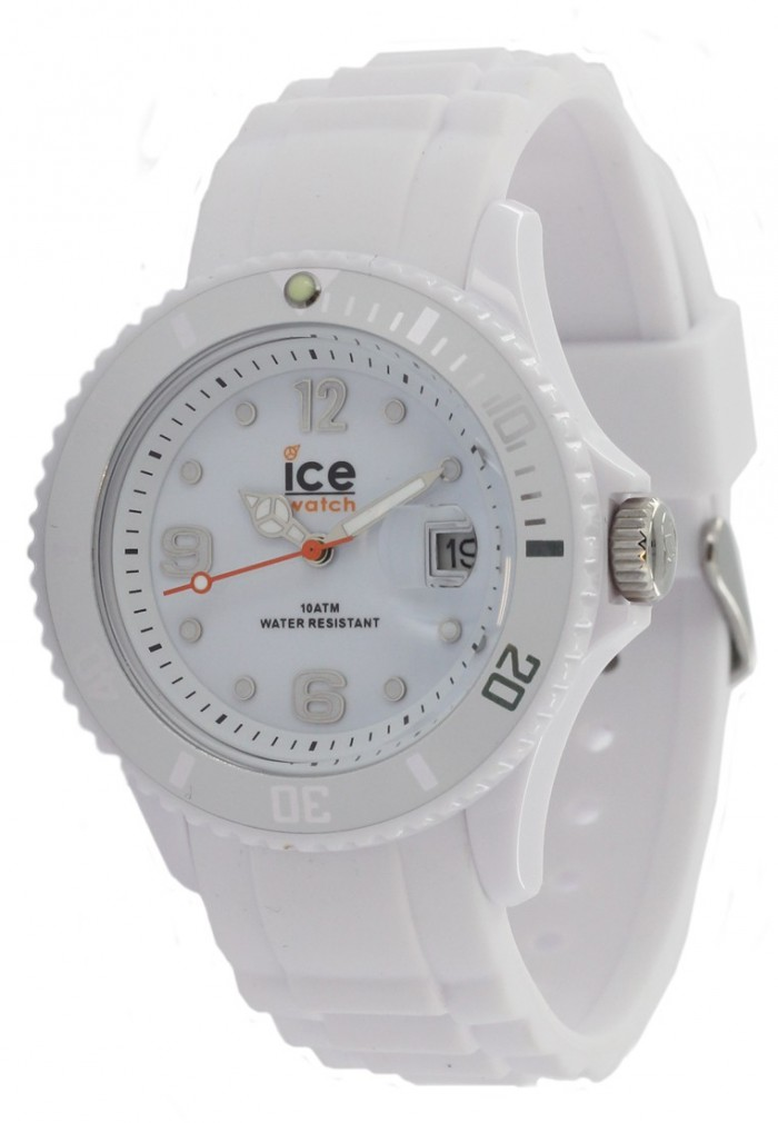 ICE-Watch SI.WE.U.S.09 blanche quartz