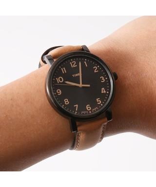 Timex T2N677 montre ronde en acier