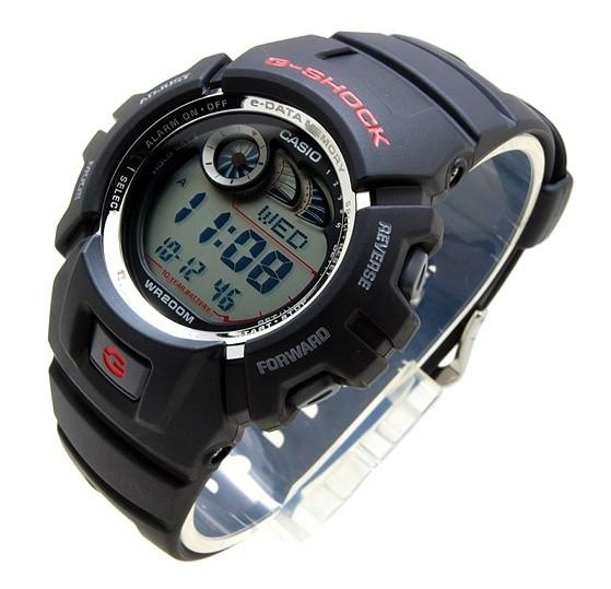 Casio G-2900F-1V homme plastique noir