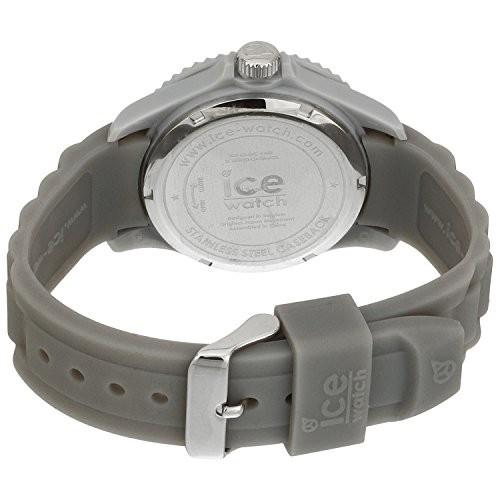 ICE-Watch SI.SR.U.S.09 plastique gris quartz ronde