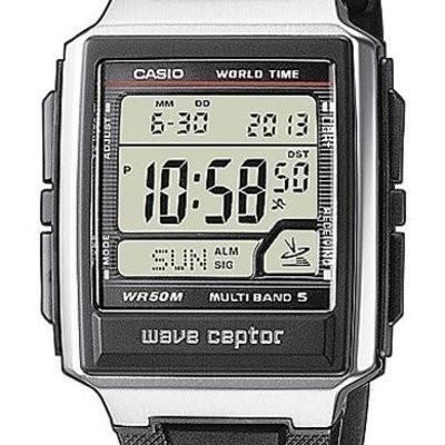 Casio WV-59E-1AVEF noir quartz carré