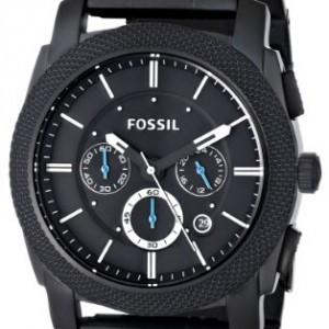 fossil fs4552 montre acier fossil homme noir quartz. Black Bedroom Furniture Sets. Home Design Ideas