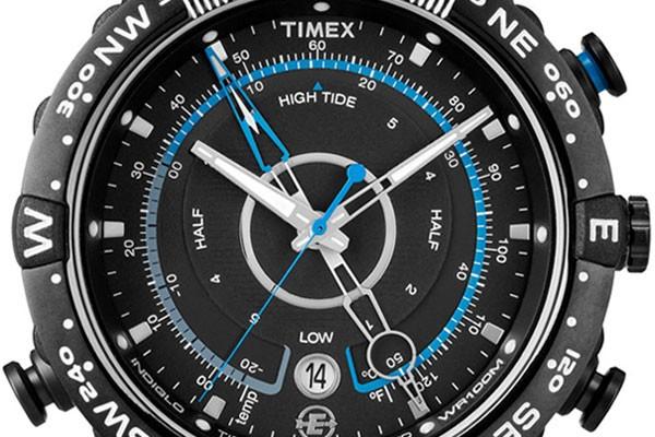 Timex T49859DH acier noir quartz