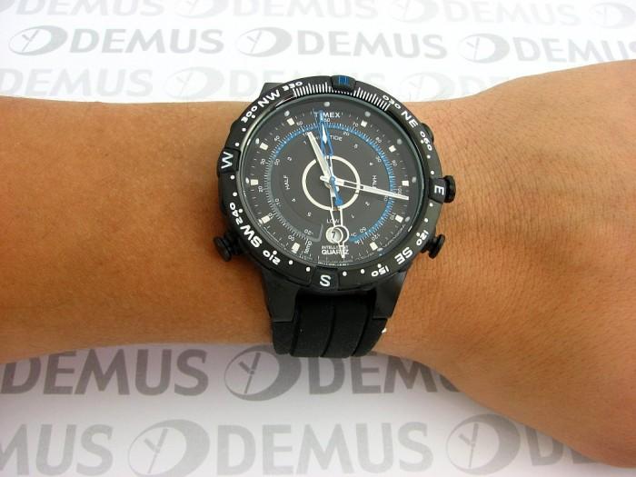 Timex T49859DH homme rond bleu