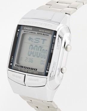 Casio DB-360N-1AEF argent gris quartz