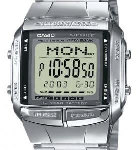 Casio DB-360N-1AEF carré homme acier