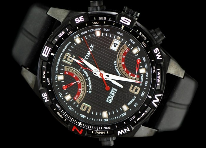 Timex T49865 homme rond acier
