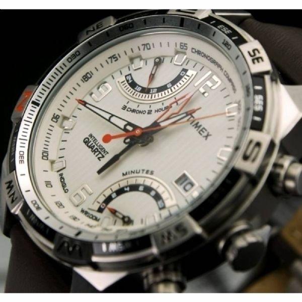 Timex T49866 marron quartz