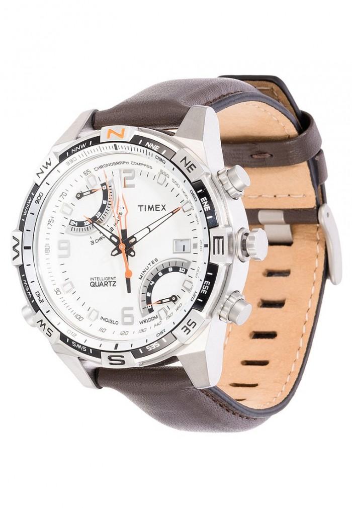 Timex T49866 homme rond acier