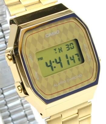 Casio A168WG-9BWEF argent quartz