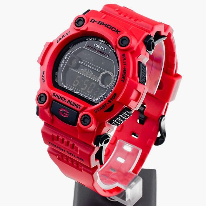 Casio GW-7900RD-4ER plastique rouge quartz