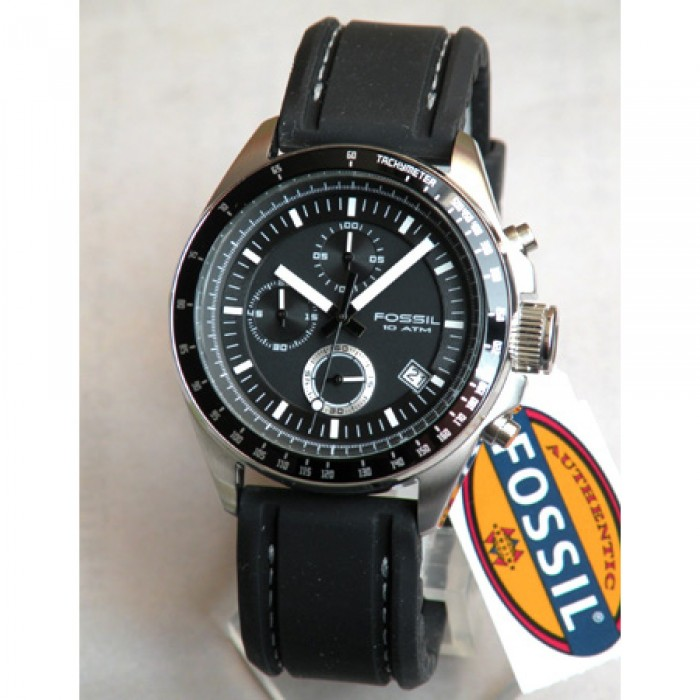 Fossil CH2573 homme rond acier