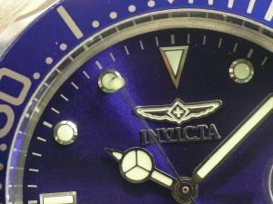 Invicta 9094 argent bleu automatique
