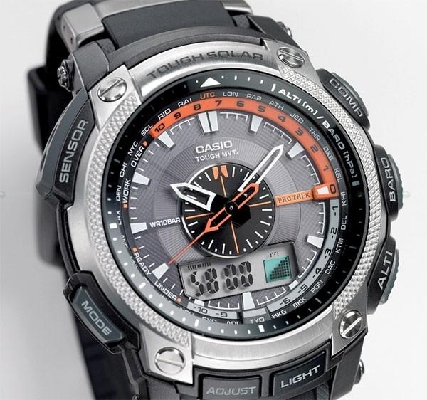 Casio PRW-5000-1ER noir quartz ronde
