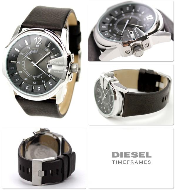Diesel DZ1206 marron quartz ronde