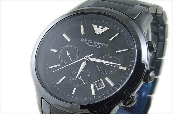 Emporio Armani AR1451 noir quartz