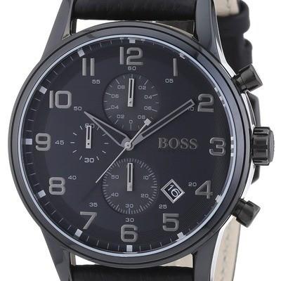 Hugo Boss 1512567 homme acier noir