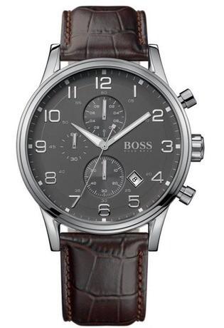 Hugo Boss 1512570 homme acier gris