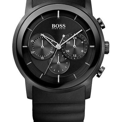 Hervorragend Hugo Boss 1512639 | Montre Acier, Homme, Hugo Boss, Noir, Quartz  PU85