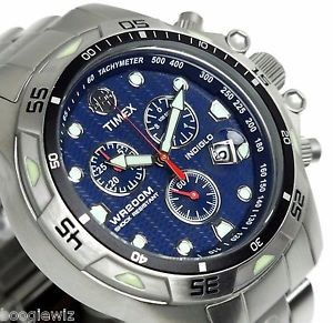 Timex T49799 homme acier argent
