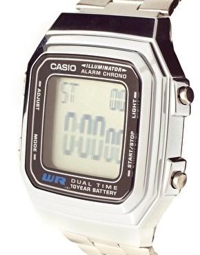 Casio A178WEA-1AES argent gris quartz