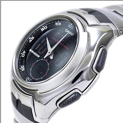 Casio AQ-160WD-1BVEF argent gris quartz