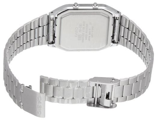 Casio AQ-230A-7DMQYES argent blanc quartz