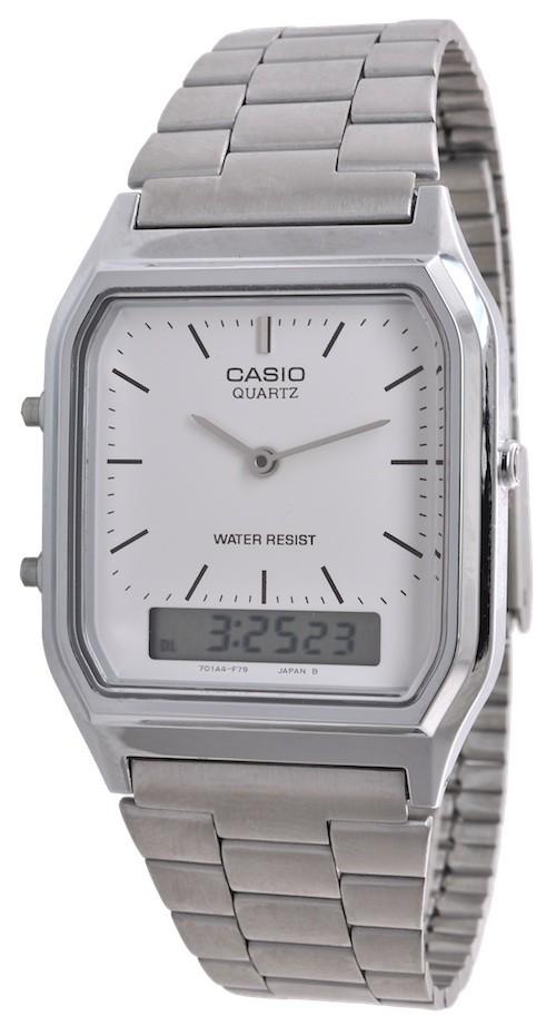 Casio AQ-230A-7DMQYES homme acier plastique
