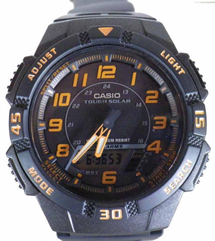 Casio AQ-S800W-1B2VEF homme rond acier