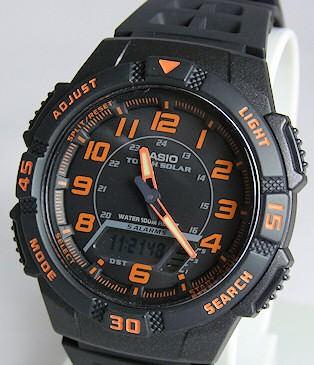 Casio AQ-S800W-1B2VEF plastique noir quartz