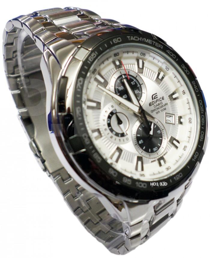 Casio EF-539D-7AVEF argent gris quartz