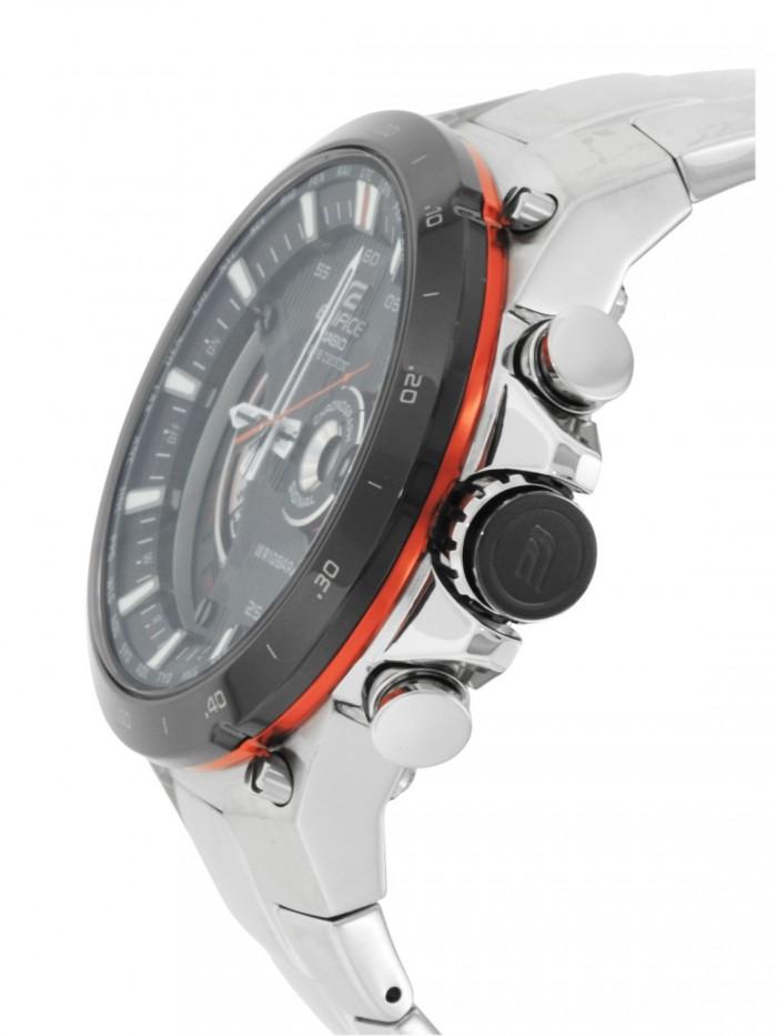 Casio EQW-A1000DB-1AER homme rond acier