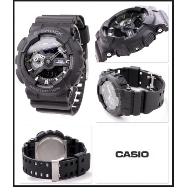 Casio GA-110-1BER acier noir quartz