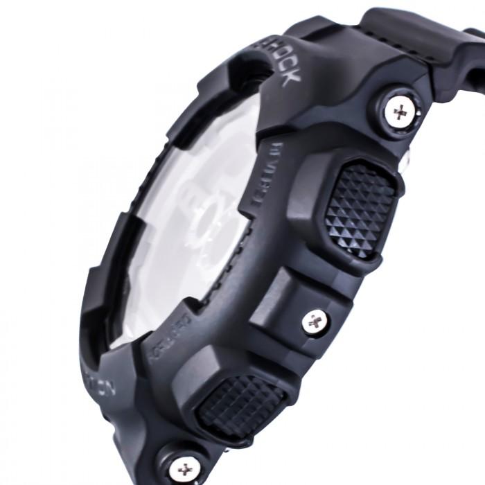 Casio GD-100-1BER homme rond acier