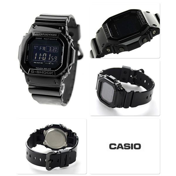 Casio GW-M5610BB-1ER carré homme acier