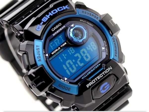 Casio G-8900A-1E homme plastique bleu