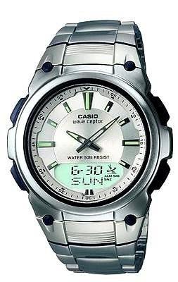Casio WVA-109HDE-7AVER argent gris quartz