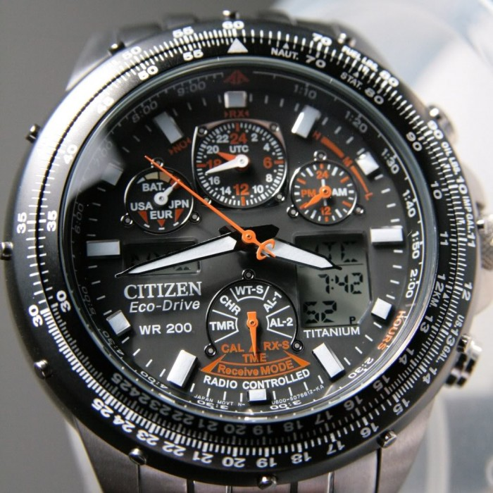 Citizen JY0010-50E argent noir