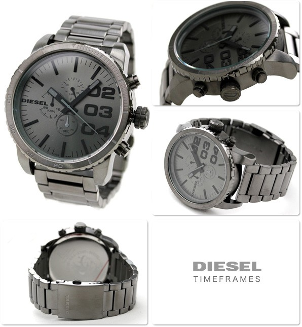 Diesel DZ4215 gris quartz