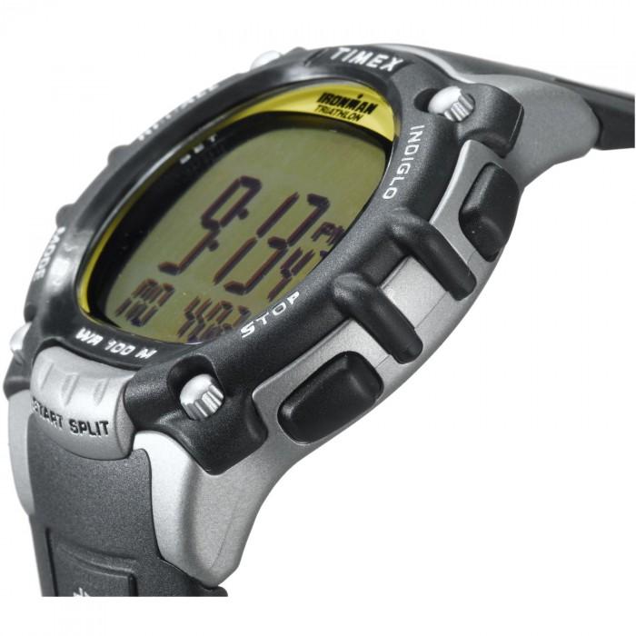 Timex Sports T5E231 rond plastique noir