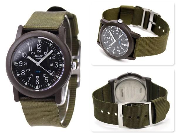 Timex T41711 plastique noir quartz
