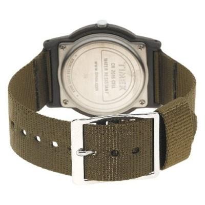 Timex T41711 homme rond acier