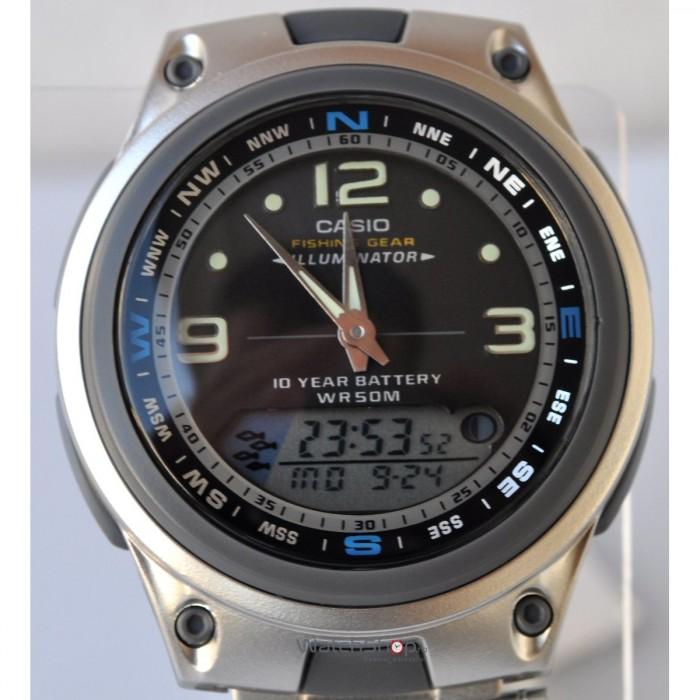 Casio AW-82D-1AVES argent noir quartz
