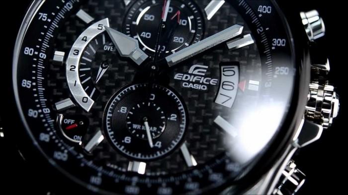 Casio EFR-501SP-1AVEF argent noir quartz
