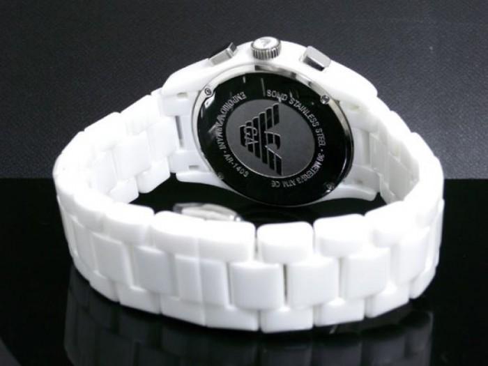 Emporio Armani AR1403 blanc quartz