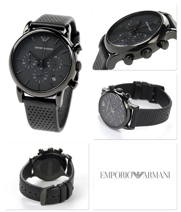 Emporio Armani AR1737 noir quartz